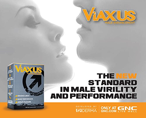 VIAXUS-All-Natural-Male-Enhancement-Pills-Improve-Sex-Drive-Erection-Performance-40-Capsules-0-2