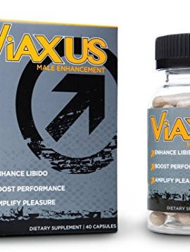 VIAXUS-All-Natural-Male-Enhancement-Pills-Improve-Sex-Drive-Erection-Performance-40-Capsules-0