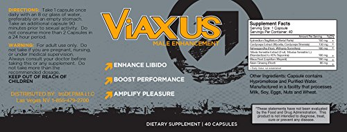 VIAXUS-All-Natural-Male-Enhancement-Pills-Improve-Sex-Drive-Erection-Performance-40-Capsules-0-3